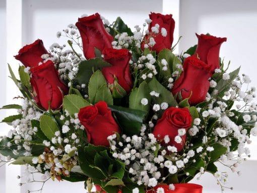 Aşkın Adı 9 Kırmızı Gül Arajmanı – 4