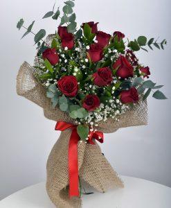 Canım Sevgilime 14 Kırmızı Gül Buketi – 1