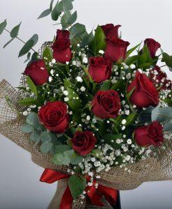 Canım Sevgilime 14 Kırmızı Gül Buketi – 2