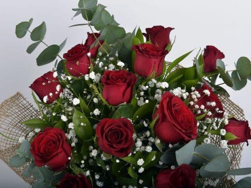 Canım Sevgilime 14 Kırmızı Gül Buketi – 3